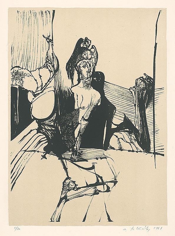 Vincent Hložník - 2 - List z nepomenovaného cyklu