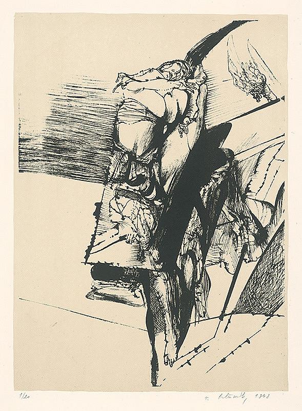 Vincent Hložník - 6 - List z nepomenovaného cyklu