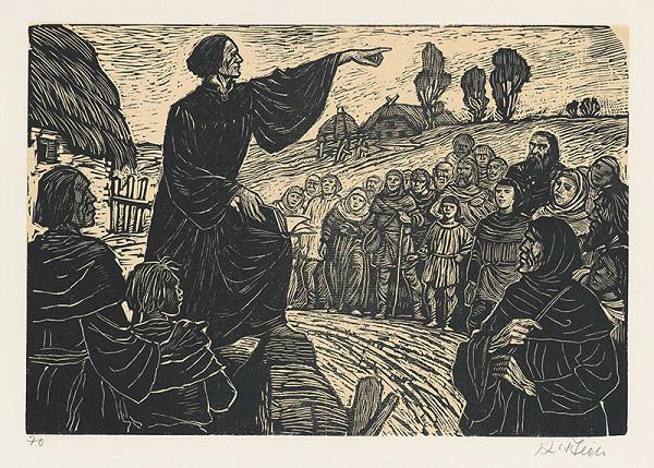 Karel Štěch – Mistr Jan káže v južných Čechách