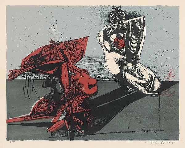Vincent Hložník - 39 - List z cyklu Veselý zvierací svet