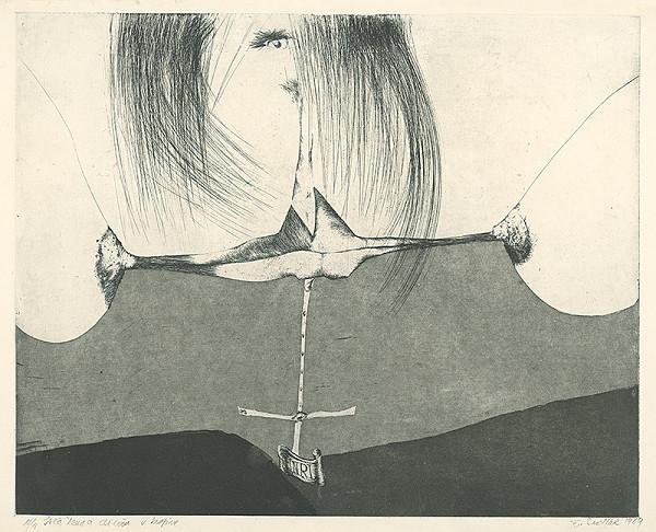 Emil Sedlák – Istá žena a dievča v krajine