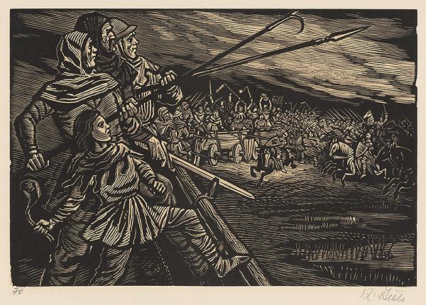 Karel Štěch – Bitva v Sudoměře