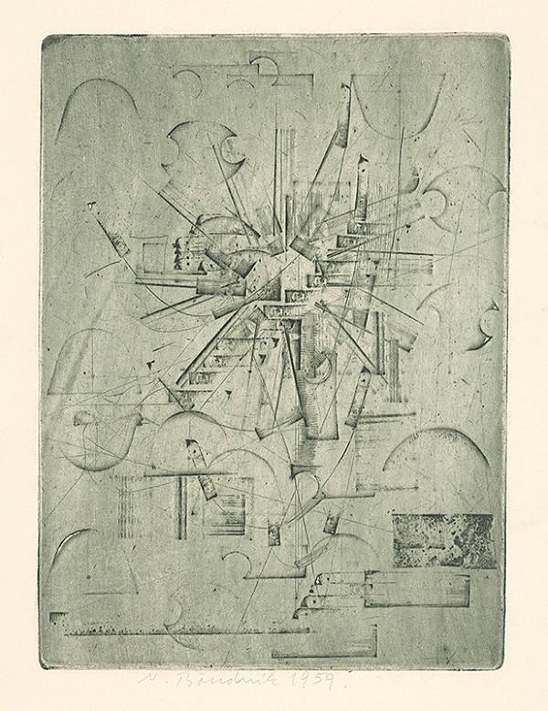 Vladimír Boudník - Magnetická kompozícia
