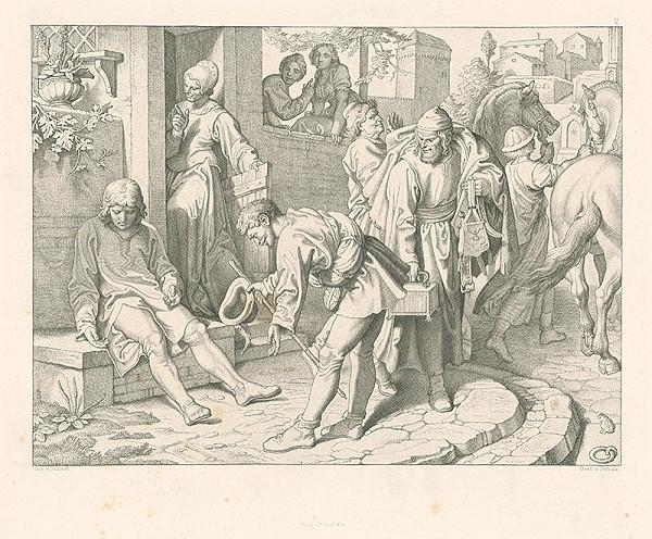 Alois Petrák, Joseph von Führich – Koniec bezstarostného života