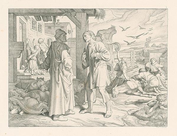 Alois Petrák, Joseph von Führich – Po žobraní