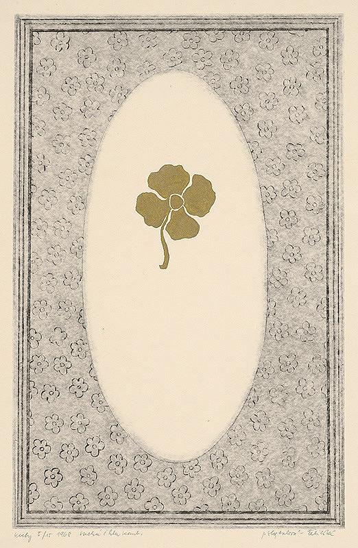 Jana Želibská - Kvetiny - štvorlístok