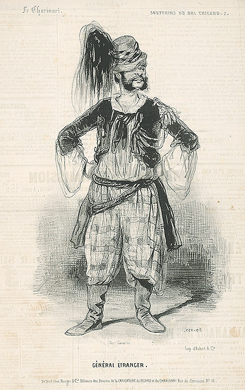 Paul Gavarni - Podivný generál