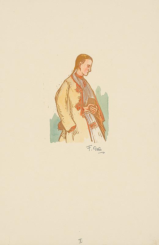 Ferdiš Duša - Dievča z Čičmian