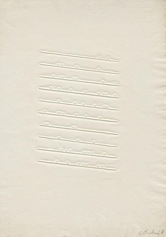Dalibor Chatrný – Biela slepotlač