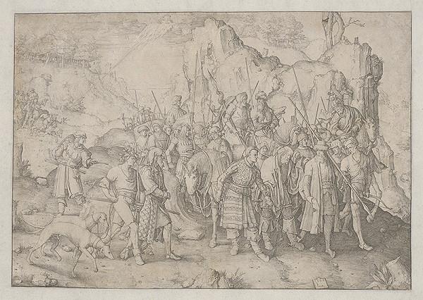 Lucas van Leyden - Obrátenie sv. Pavla