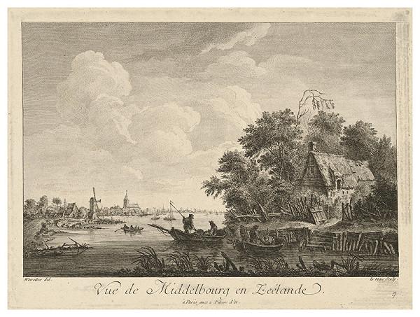 Jean Jacques André Le Veau, Franz Edmund Weirotter - Marina