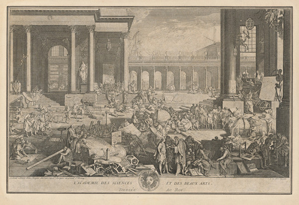 Jacques Chereau, Sébastien Le Clerc ml. – Akadémia vied a krásnych umení