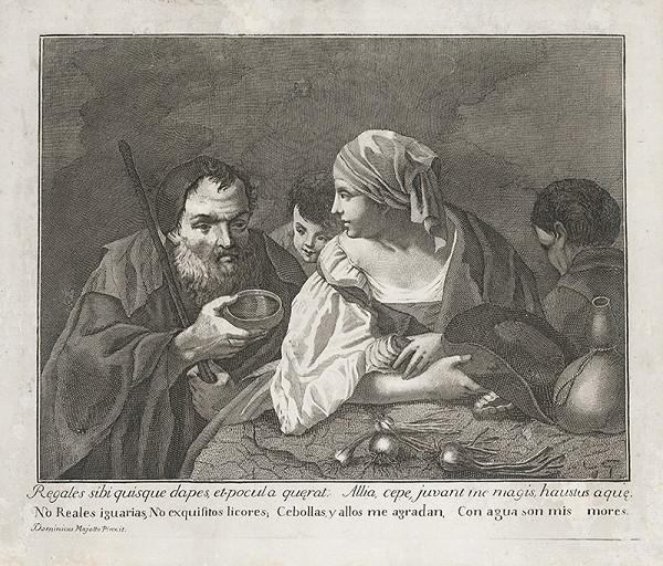 Giovanni Volpato, Domenicus Maggiotto – Žánrová scéna
