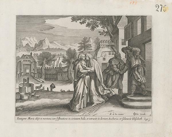 Claes Jansz. Visscher, Maarten de Vos st. – Navštívenie Panny Márie