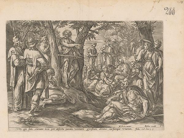 Claes Jansz. Visscher, Maarten de Vos st. - Kázeň Jána krstiteľa