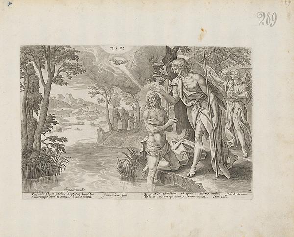 Claes Jansz. Visscher, Anthon Weirix, Maarten de Vos st. - Krst Krista