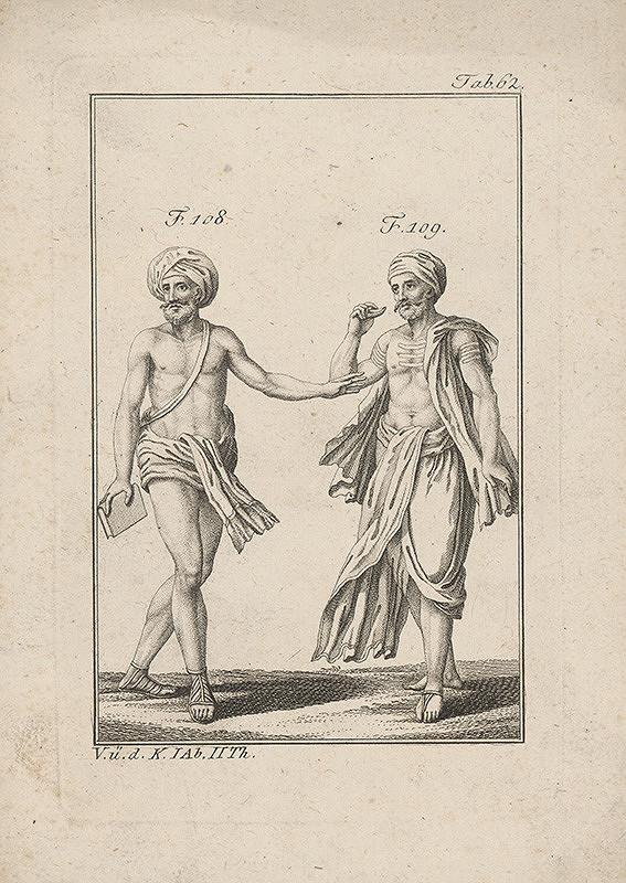 Západoeurópsky autor z 18. storočia – Dvaja Indovia