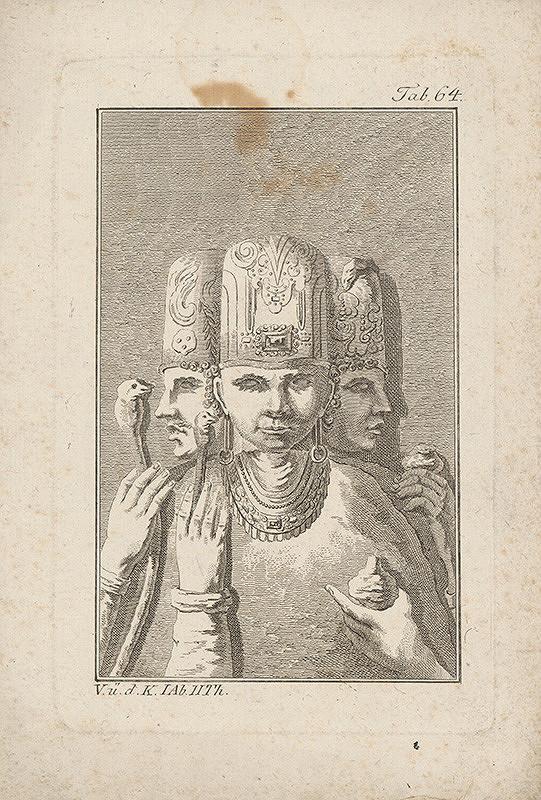 Západoeurópsky autor z 18. storočia – Kňazi boha irisa