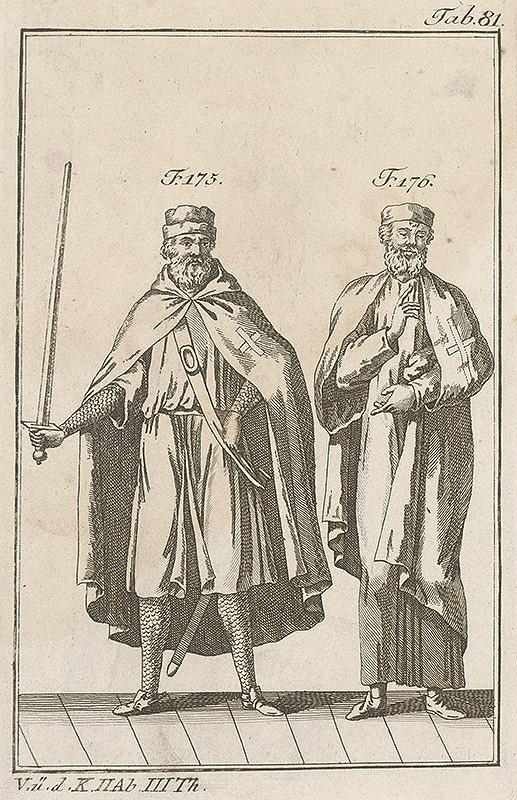Západoeurópsky autor z 18. storočia – Rytier a učenec krížovej regule