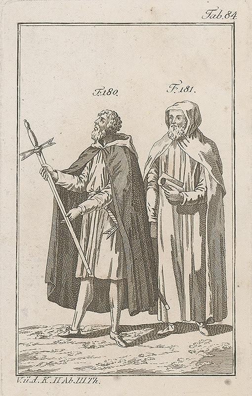 Západoeurópsky autor z 18. storočia – Rytier a učenec