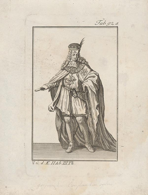 Západoeurópsky autor z 18. storočia – Knieža s obrazom sv.Juraja na hrudi