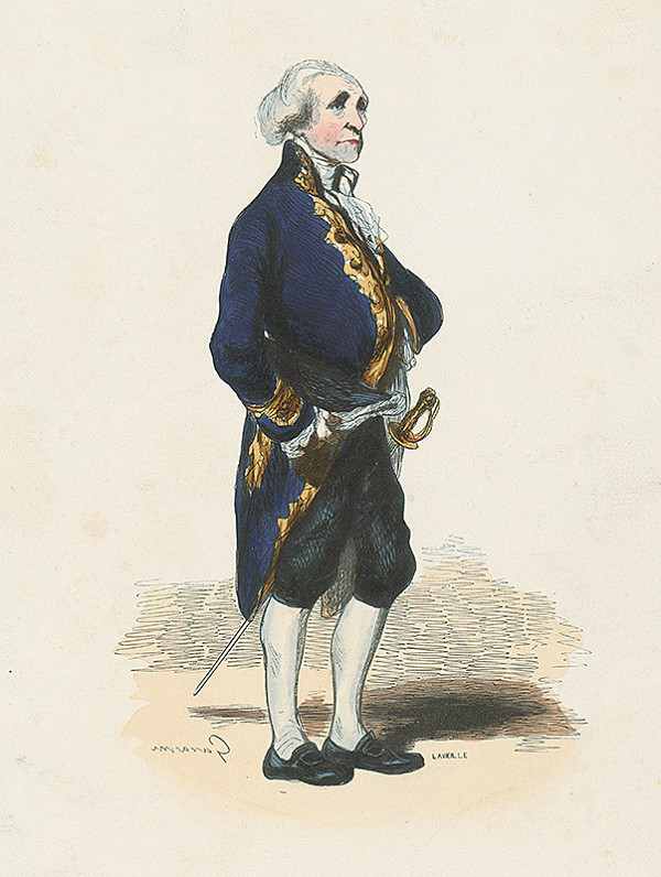 Paul Gavarni, Jacques Adrien Lavieille – Starý šľachtic