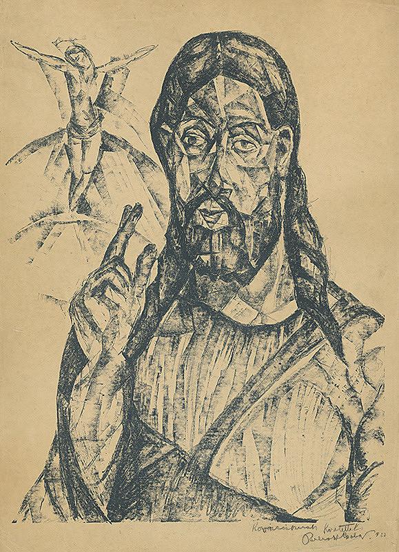 Vilmos Perlrott-Csaba – Kristus