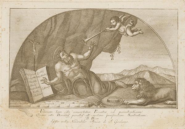 Západoeurópsky autor z 18. storočia – Svätý Hieroným