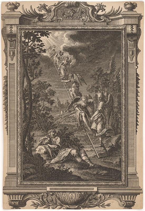 Západoeurópsky autor z 18. storočia – Jakubov sen