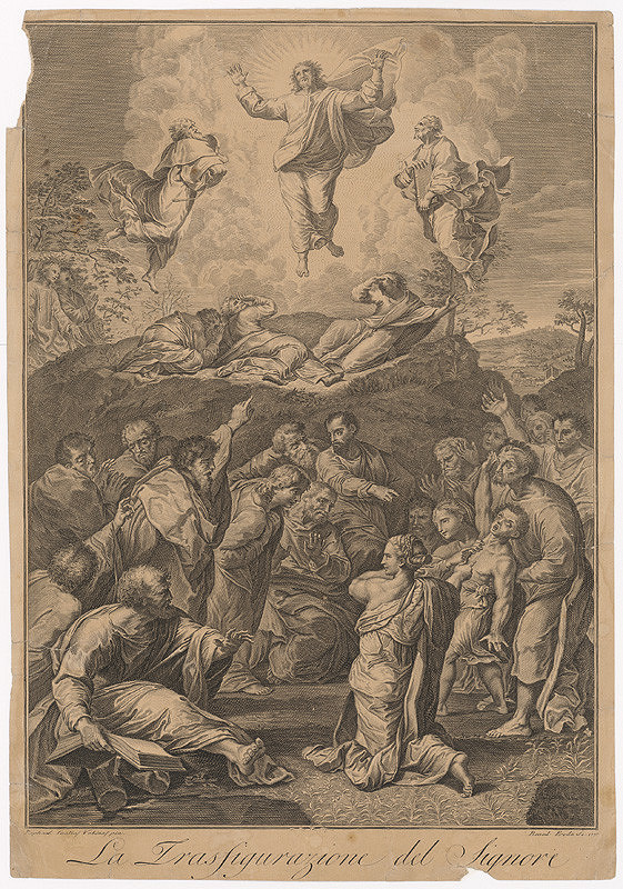 Benedetto Eredi, Raffael – Transfigurácia