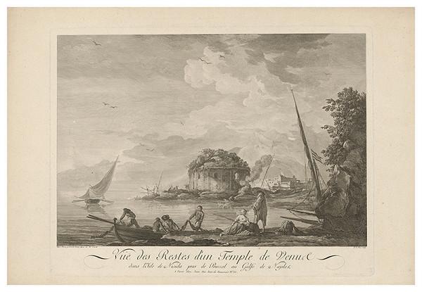 Noel le Mire, Claude-Joseph Vernet – Venušin chrám na ostrove Nisida