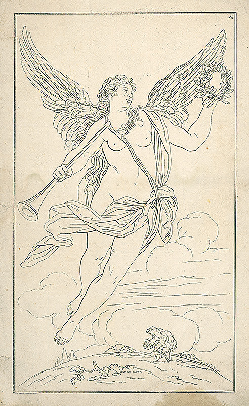 Stredoeurópsky autor z 19. storočia - Alegória