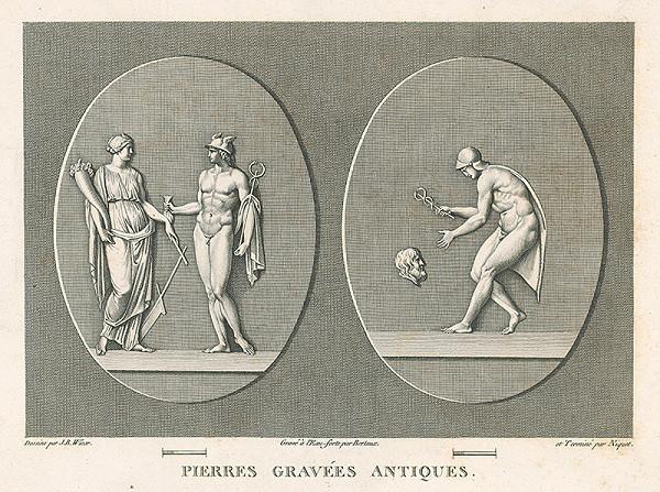 H.G. Bertaux, Jean Baptiste Joseph Wicar – List zo zborníka antických kamejí V.