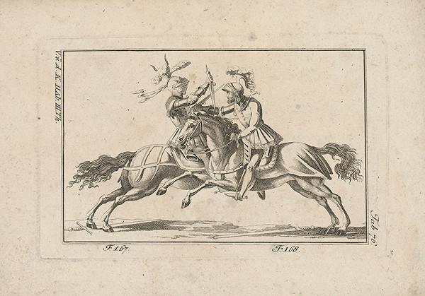 Západoeurópsky autor z 18. storočia - Rytiersky turnaj
