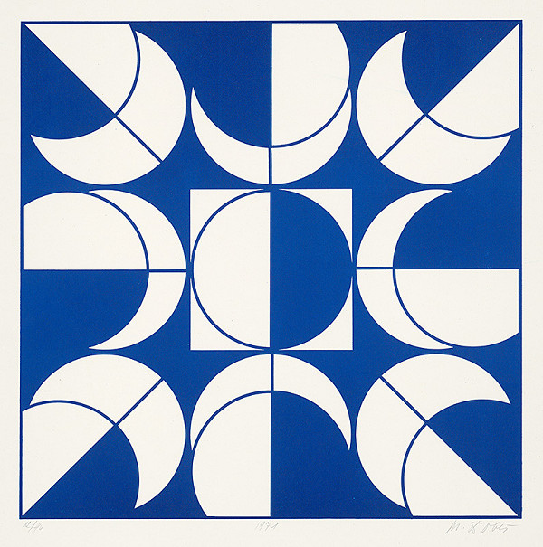 Milan Dobeš – Modrá variácia I.