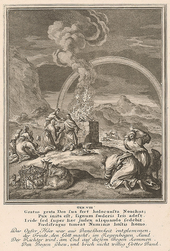 Caspar Luyken - Genesis/VIII