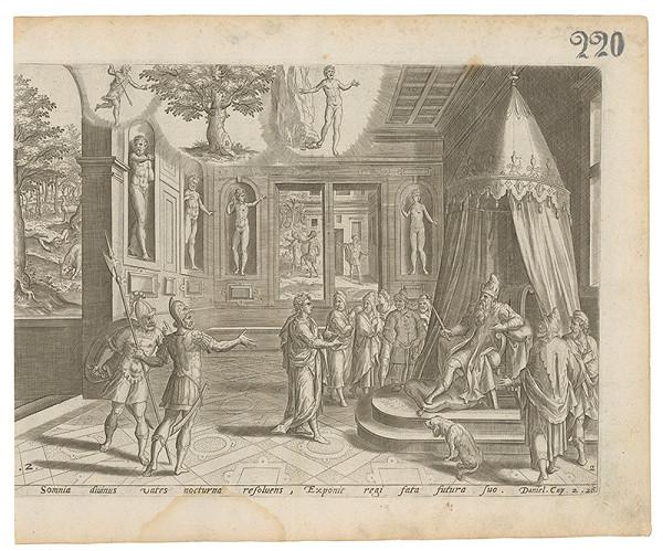 Claes Jansz. Visscher - Daniel. Cap. 2. 26