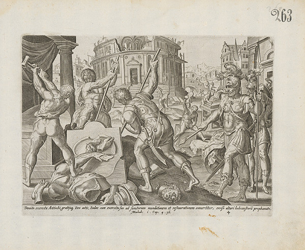 Claes Jansz. Visscher – Machabi i.Cap. 4. 36