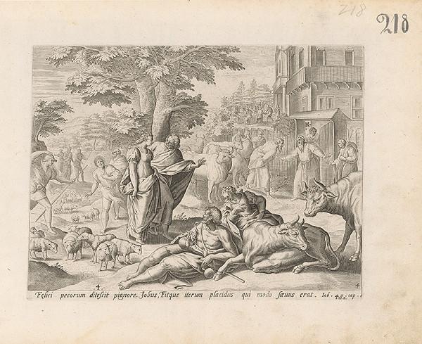 Claes Jansz. Visscher – Job. 2.cap. 10.V.