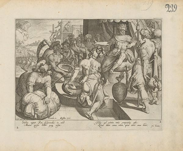 Claes Jansz. Visscher – Starý zákon 3Esd.Cap. 3.4.