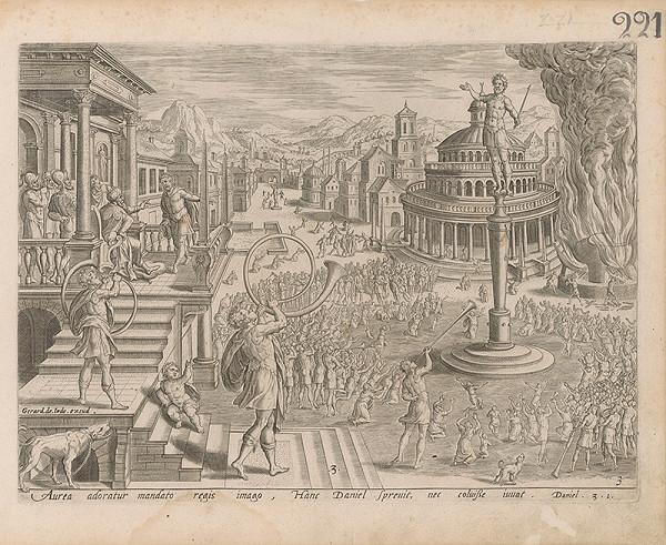 Claes Jansz. Visscher, Gerard de Iode - Daniel 3. I.