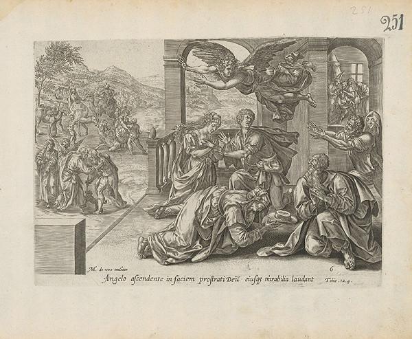 Claes Jansz. Visscher, Maarten de Vos st. – Tobie. 12. 4.