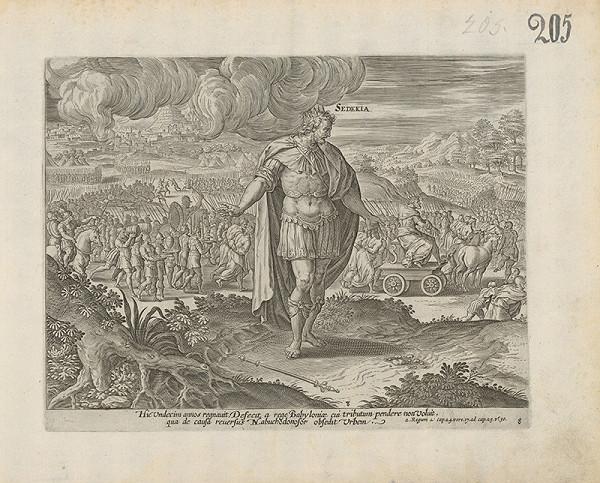Claes Jansz. Visscher - 2 Regom a Cap. 24 vers.17. od Cap. 25. V.r. 30