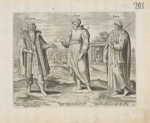 Claes Jansz. Visscher – Manasse, Amon, Iosia
