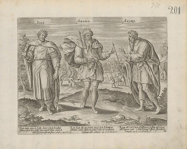 Claes Jansz. Visscher – Ioas, Amasia, Azaria