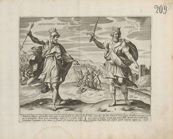 Claes Jansz. Visscher – Artaxerxes Mnemon a Ochus
