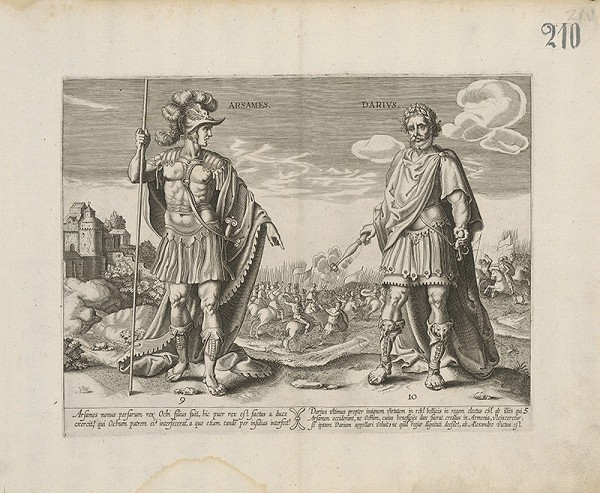 Claes Jansz. Visscher – Arsames a Darius