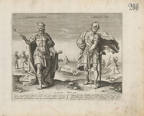 Claes Jansz. Visscher – Cores vel. Cyrus a Camryses Cyri