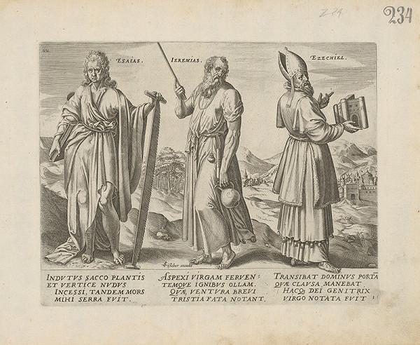Claes Jansz. Visscher - Esaias, Jeremias, Ezechiel