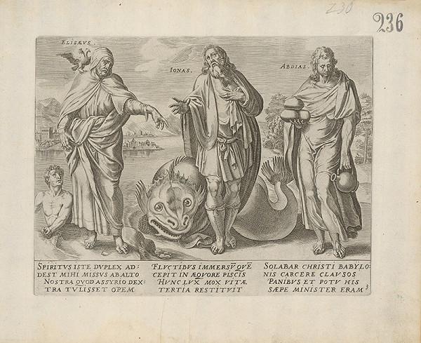 Claes Jansz. Visscher - Elisaeus, Ionas, Abdias